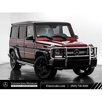 2018 Mercedes-Benz G63 AMG for sale 101244312