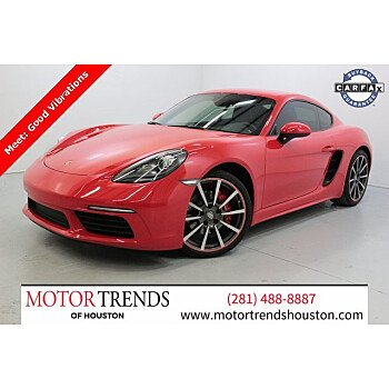2018 Porsche 718 Cayman S for sale 101395804