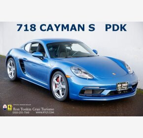 2018 Porsche 718 Cayman S for sale 101434982