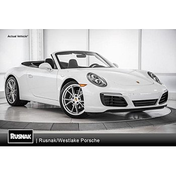 2018 Porsche 911 Carrera Cabriolet for sale 101078060