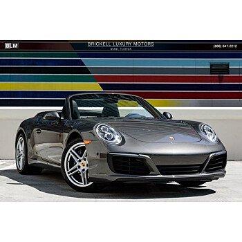 2018 Porsche 911 Carrera Cabriolet for sale 101155179