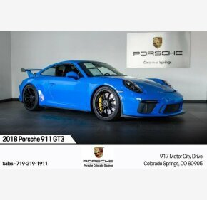 2018 Porsche 911 GT3 Coupe for sale 101215826