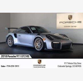 2018 Porsche 911 GT2 RS Coupe for sale 101304265