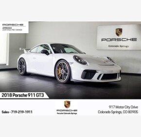 2018 Porsche 911 GT3 Coupe for sale 101330256