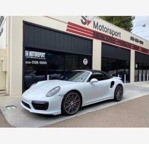 2018 Porsche 911 Turbo Cabriolet for sale 101361035