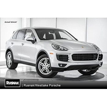 2018 Porsche Cayenne for sale 101078069