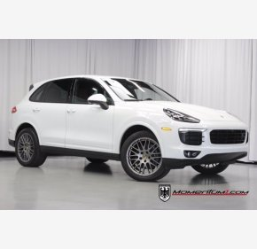 2018 Porsche Cayenne Platinum Edition for sale 101409504