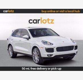 2018 Porsche Cayenne Platinum Edition for sale 101442659