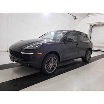 2018 Porsche Cayenne Platinum Edition for sale 101461843