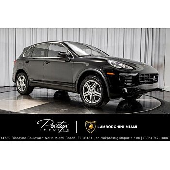 2018 Porsche Cayenne for sale 101539504