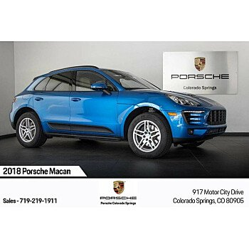 2018 Porsche Macan for sale 101209560