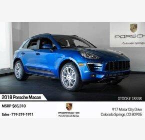 2018 Porsche Macan for sale 101209562