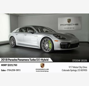 2018 Porsche Panamera Turbo S E-Hybrid for sale 101209566
