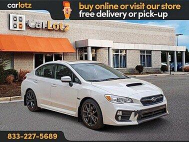 2018 Subaru WRX Premium for sale 101316348