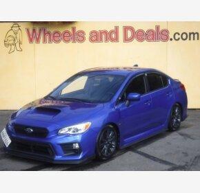 2018 Subaru WRX for sale 101404389
