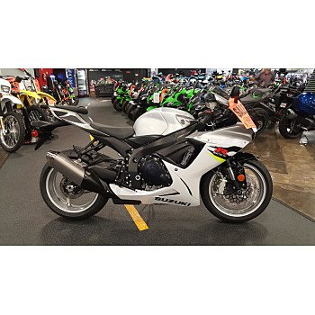 2018 Suzuki GSX-R600 for sale 200520265