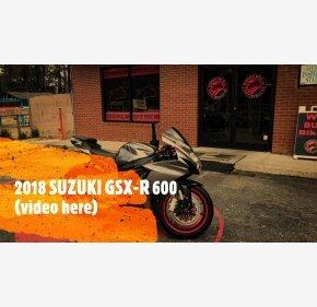 2018 Suzuki GSX-R600 for sale 201036722