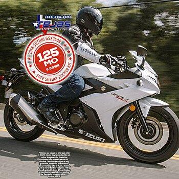 2018 Suzuki GSX250R for sale 200584508