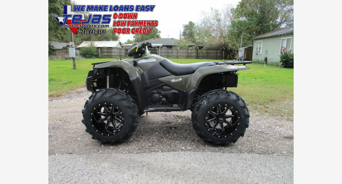2018 Suzuki KingQuad 500 for sale 200660679