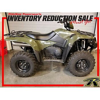 2018 Suzuki KingQuad 750 for sale 200657391
