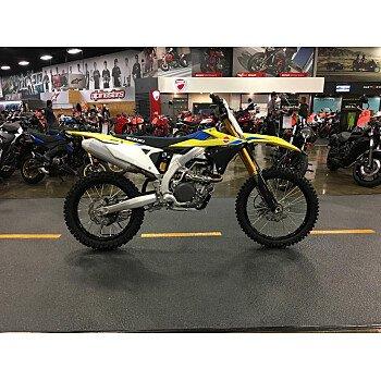 2018 Suzuki RM-Z450 for sale 200742363