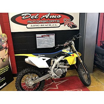 2018 Suzuki RMX450Z for sale 200512542