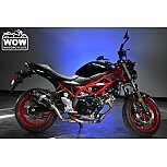 2018 Suzuki SV650 ABS for sale 201176634