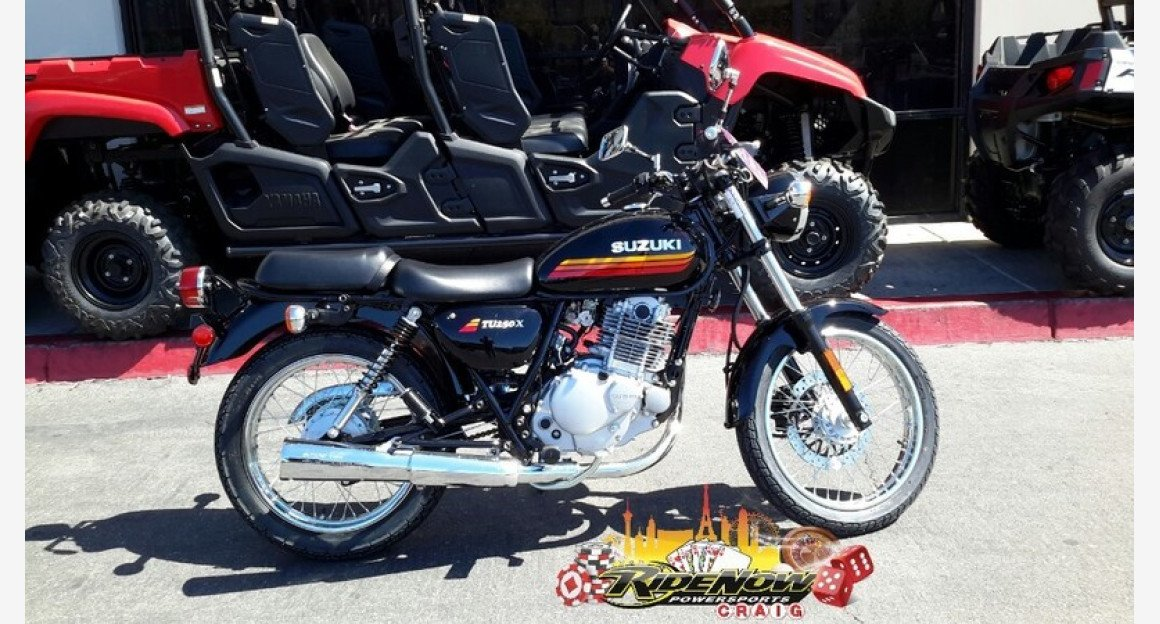 2018 Suzuki TU250X for sale 200570930