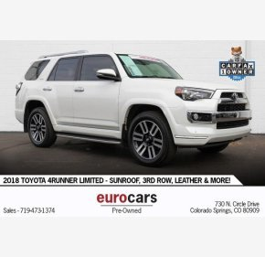 2018 Toyota 4Runner for sale 101227647