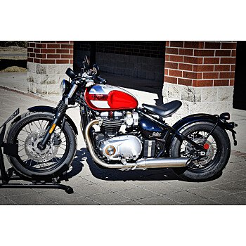 2018 Triumph Bonneville 1200 Bobber for sale 200569611