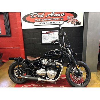2018 Triumph Bonneville 1200 Bobber for sale 200527361
