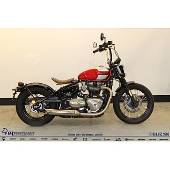 2018 Triumph Bonneville 1200 Bobber for sale 200882793