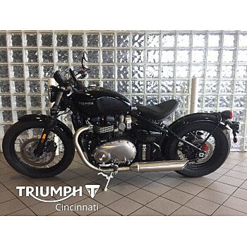 2018 Triumph Bonneville 1200 for sale 200908704