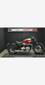 2018 Triumph Bonneville 1200 Bobber for sale 200980330