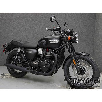 2018 Triumph Bonneville 900 T100 for sale 200623958