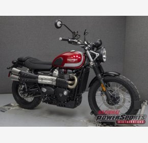 2018 Triumph Street Scrambler for sale 200579598