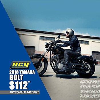 2018 Yamaha Bolt for sale 200707296
