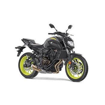 2018 Yamaha MT-07 for sale 200536112