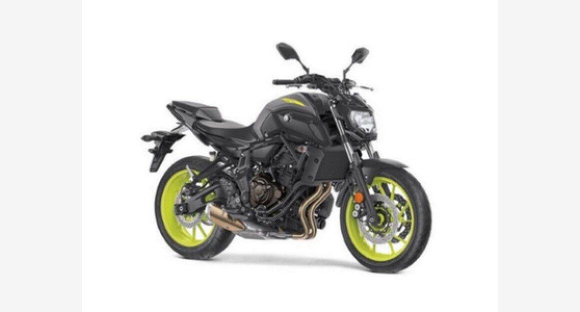 2018 Yamaha MT-07 for sale 200592468