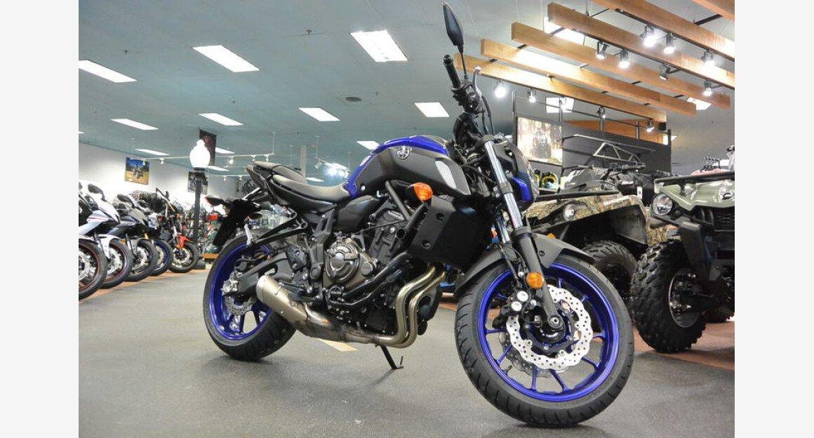 2018 Yamaha MT-07 for sale 200609289