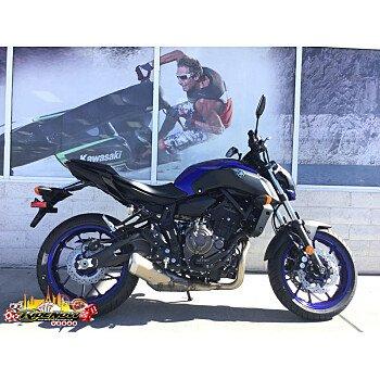 2018 Yamaha MT-07 for sale 200630588