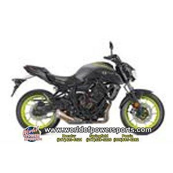 2018 Yamaha MT-07 for sale 200637095