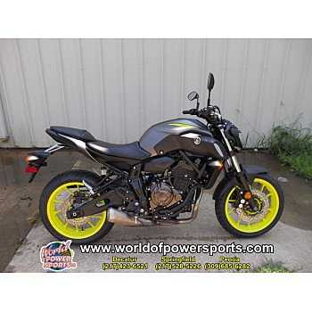 2018 Yamaha MT-07 for sale 200637270