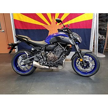 2018 Yamaha MT-07 for sale 200656631