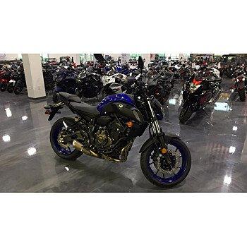 2018 Yamaha MT-07 for sale 200678468