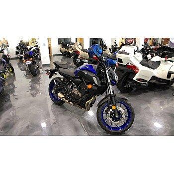 2018 Yamaha MT-07 for sale 200678478
