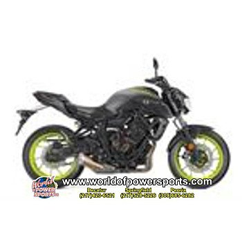 2018 Yamaha MT-07 for sale 200637095