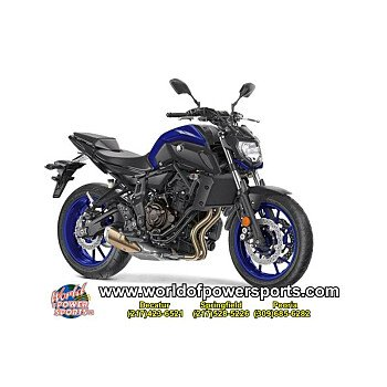 2018 Yamaha MT-07 for sale 200637325