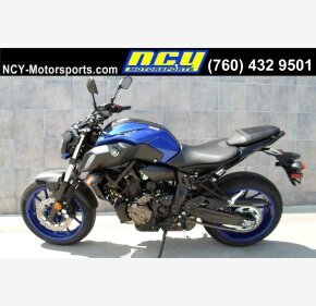 2018 Yamaha MT-07 for sale 200707325