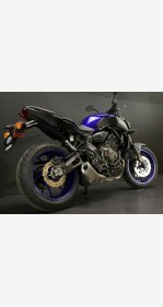 2018 Yamaha MT-07 for sale 200777062